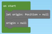 on start code
