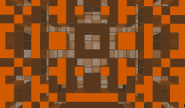 orange checker background. 5png