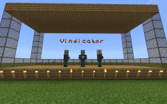 MakeCode for Minecraft Monster Showtime Vindicator